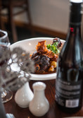 Flames on Forty's lamb shank main is the ultimate comfort food.
