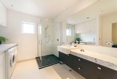Main bathroom and laundry