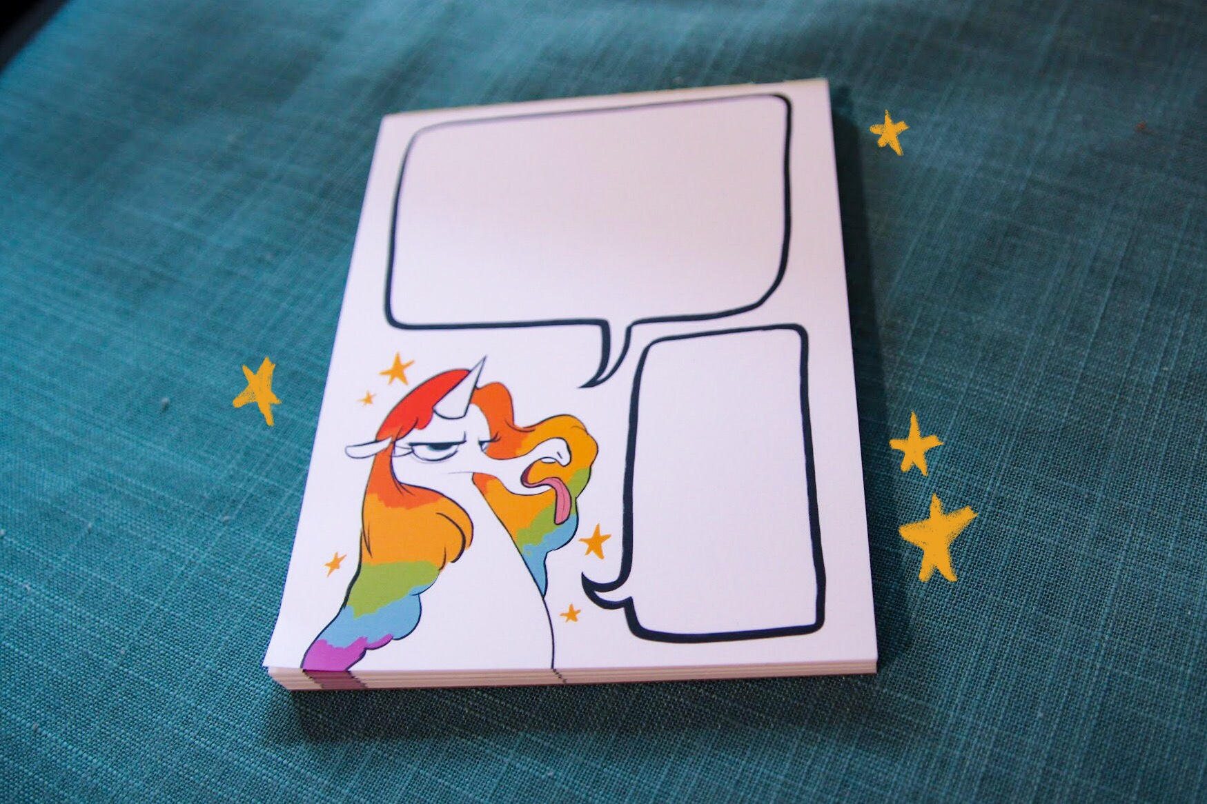 Divacorn notepad