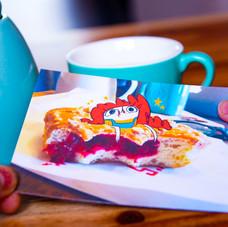 Happy Doughnut Postcard