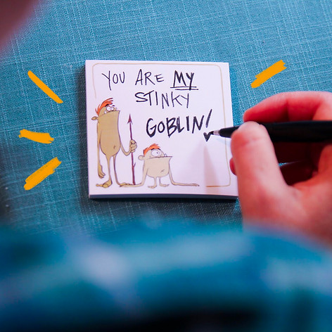 Goblin Sticky Notes