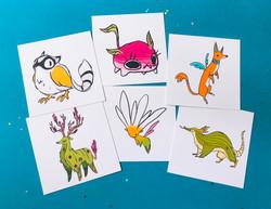 Creature Mini prints