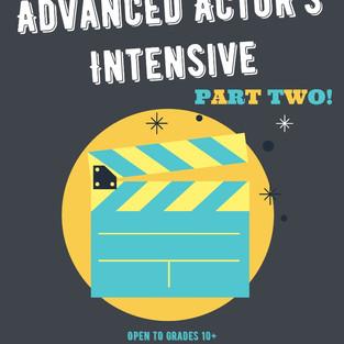 Advanced Actors Intensive