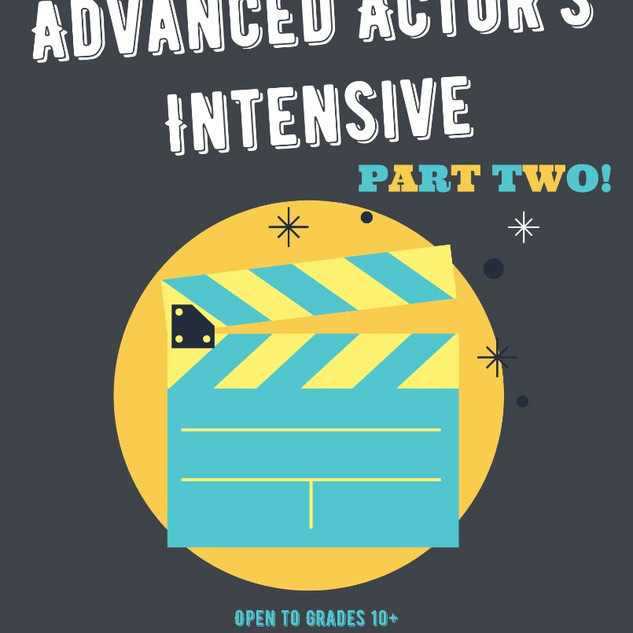 Advanced Actors Intensive