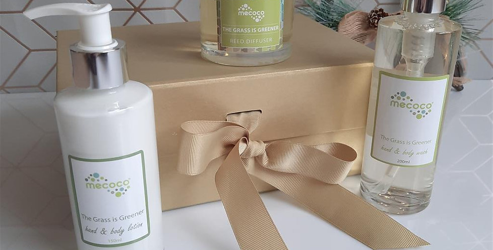 Scented self care gift box