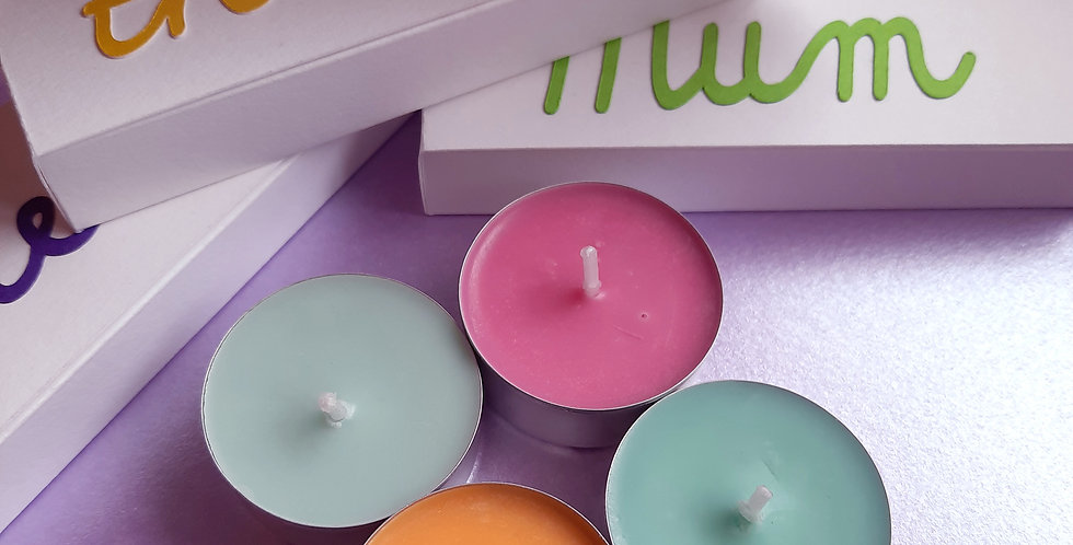Scented Tea Lights selection box
