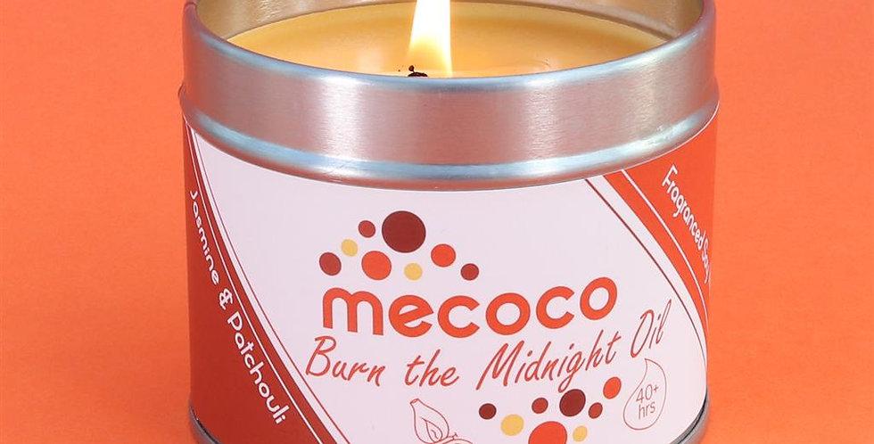 Burn the Midnight Oil : large tin