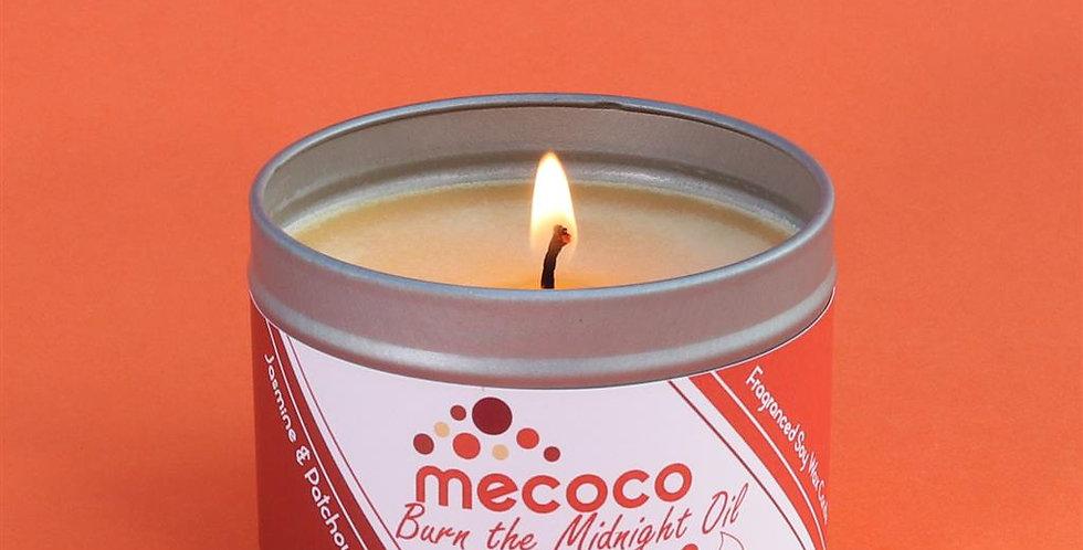 Burn the Midnight Oil : small tin