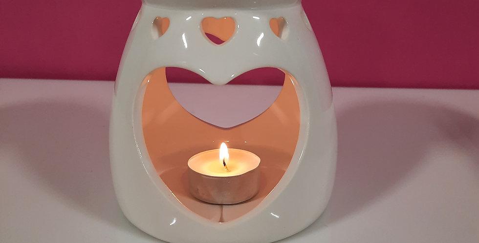 Heart Ceramic wax melter
