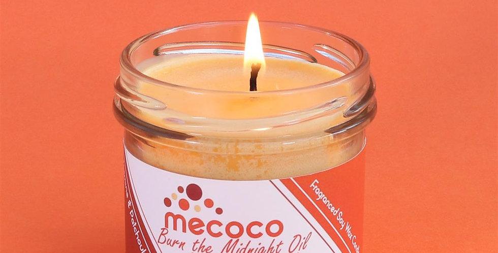Burn the Midnight Oil : small jar