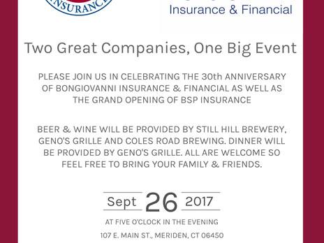 BSP Insurance - Grand Opening!