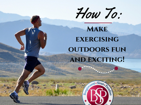 How To: Make Exercising Outdoors Fun