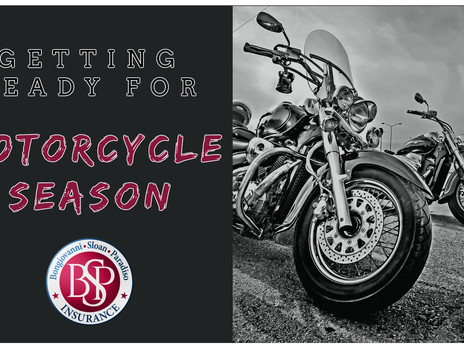 Getting Ready for Motorcycle Season