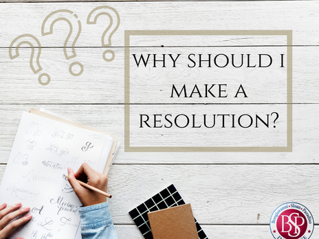 Why Should I Make a Resolution?