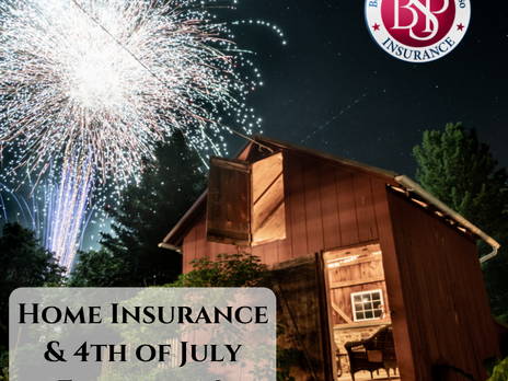 Home Insurance & 4th of July Fireworks