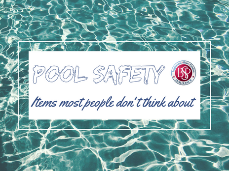 Pool Safety! Items most people don't think about