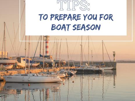 TIPS To Prepare You For Boat Season