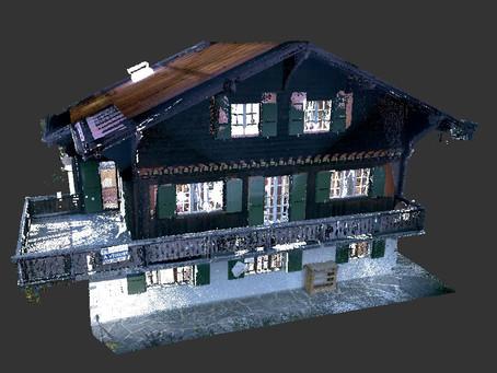 Scanner 3D - Chalet à Leysin