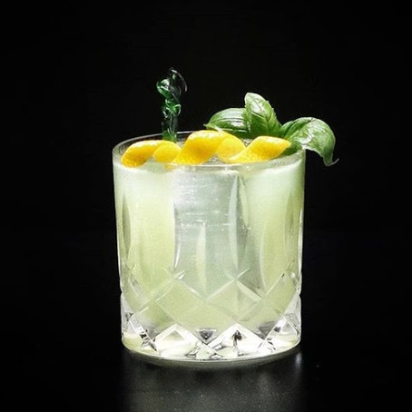 Lemon Quarantini - Virtual Happy Hour