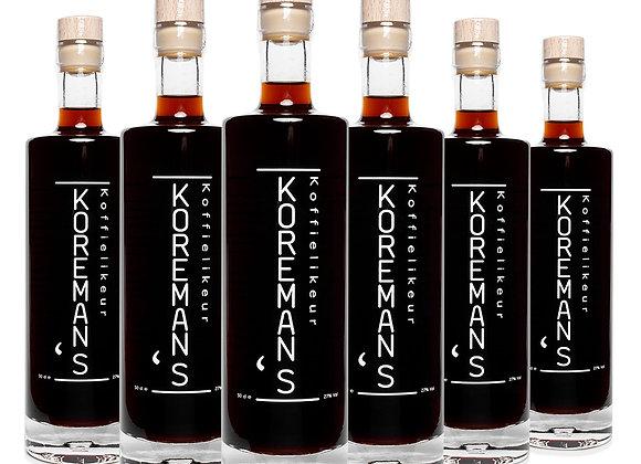 Koreman's Koffielikeur Dozenkorting