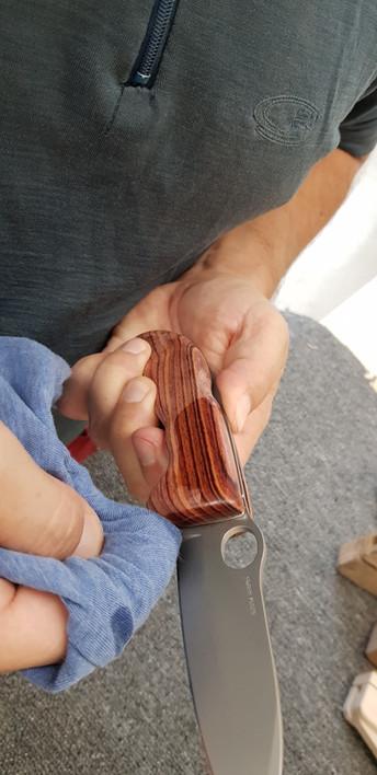 beim einölen, kommt das schöne Holz so richtig zur Geltung