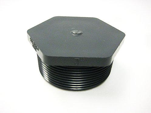 PVC S80 Threaded Plug