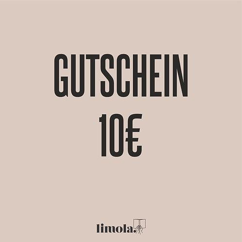 Gutschein 10€ (digital)