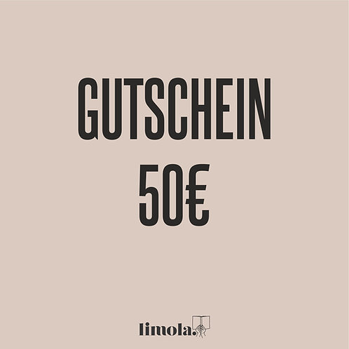Gutschein 50€ (digital)