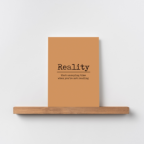 Karte 'Reality'