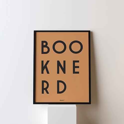 Poster 'BOOKNERD'