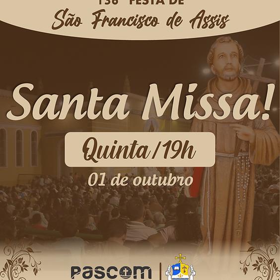 Santa Missa - Quinta 01/10 | 19H