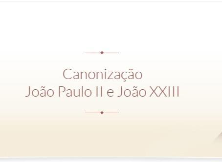 Seis anos atrás, a canonização de João Paulo II e João XXIII