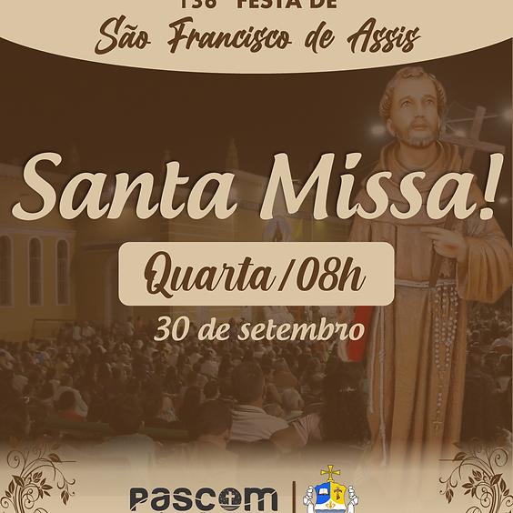 Santa Missa - Quarta 30/09   08H