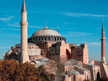 Presidente da Grécia pede ajuda ao Papa para defender a Basílica de Santa Sofia