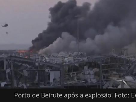 Papa envia 250 mil euros ao Líbano para afetados por explosão em Beirute