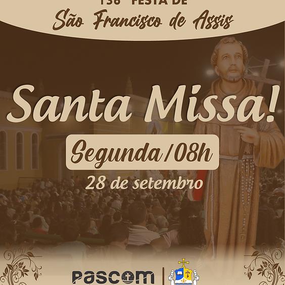 Santa Missa - Segunda 28/09 | 08H