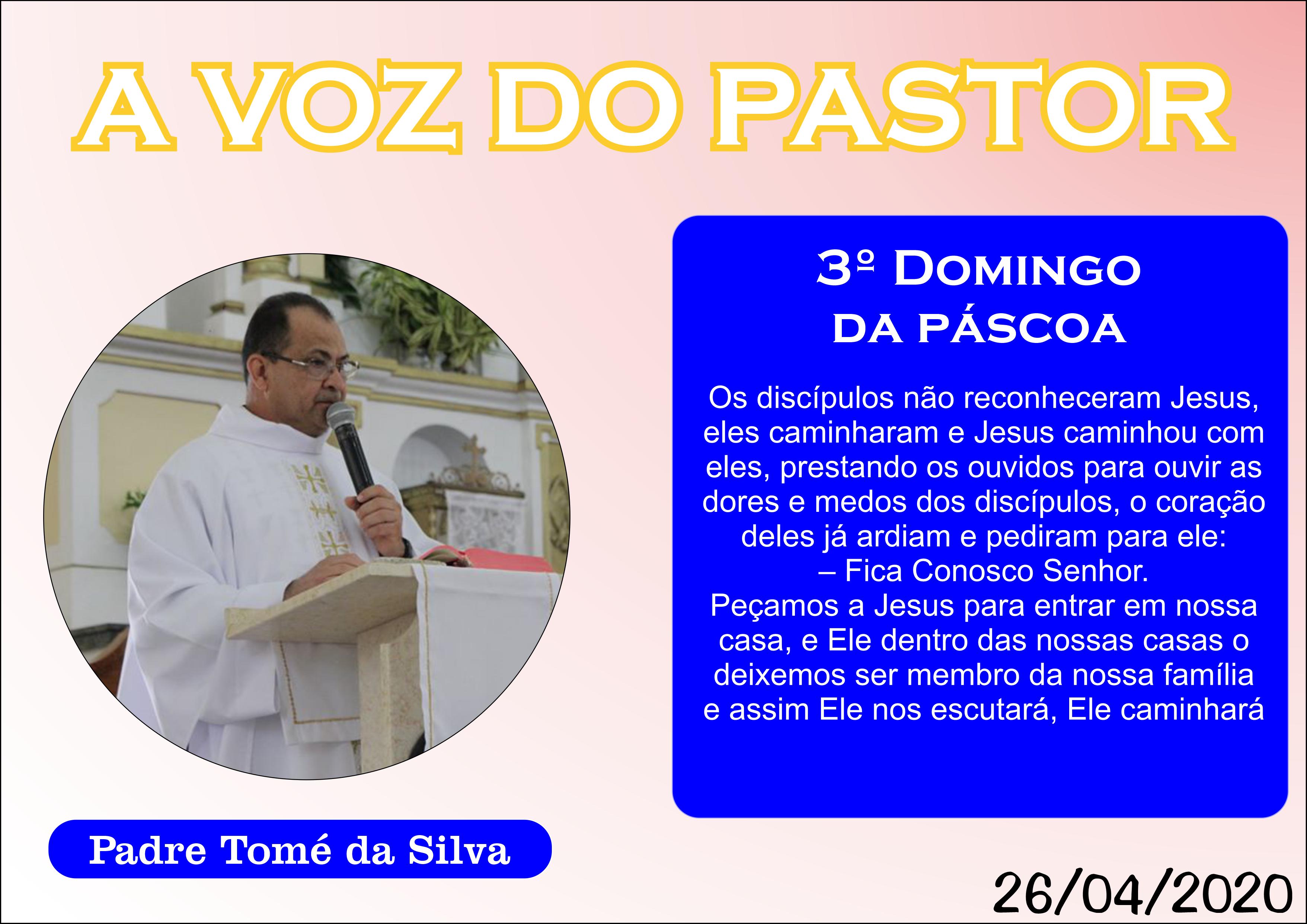 3º Domingo da Páscoa - 2020