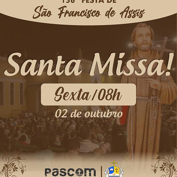 Santa Missa - Sexta 02/10 | 08H