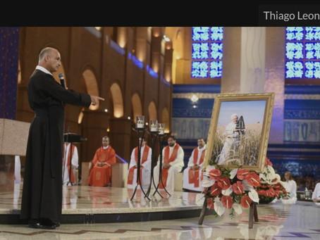 Santuário celebra o tríduo em memória de Padre Vítor Coelho de Almeida