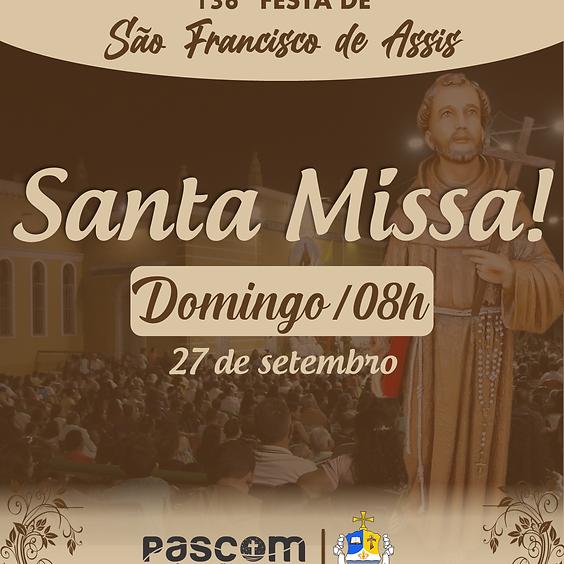Santa Missa - Domingo 27/09 | 08H