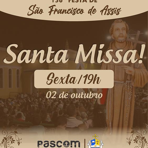 Santa Missa - Sexta 02/10 | 19H