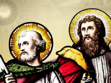 """""""Pedro e Paulo são um exemplo, uma norma de vida para todos nós"""", afirma dom Orani"""