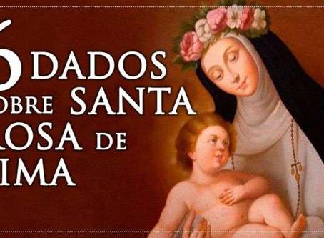 6 dados sobre Santa Rosa de Lima que talvez não saiba