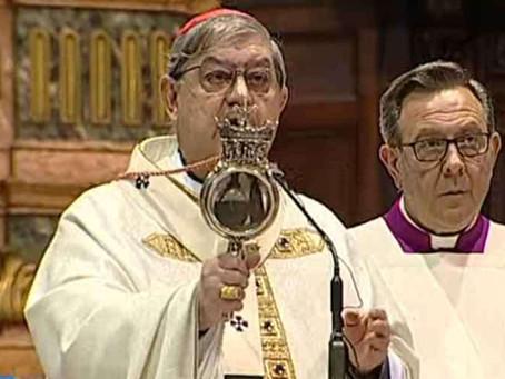 Em tempo de coronavírus repetiu-se o milagre da liquefação do sangue de São Januário