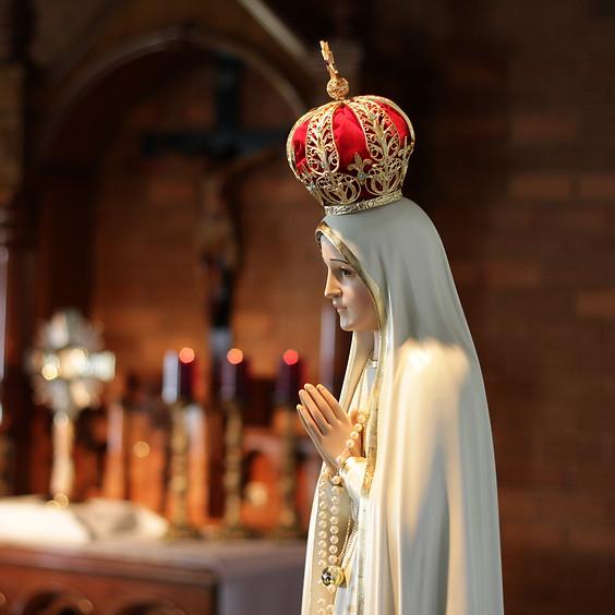 Santa Missa -  Terça-feira  13/10 | 12H