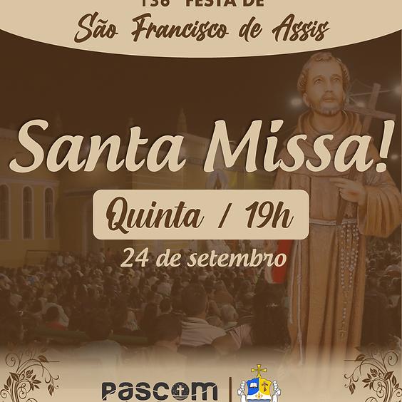 Santa Missa - Quinta 24/09 | 19H