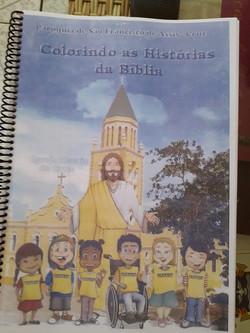 Colorindo as Histórias da Bíblia