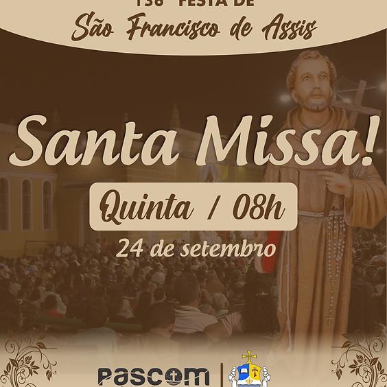Santa Missa - Quinta 24/09   08H