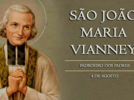 Hoje é a festa de São João Maria Vianney, padroeiro dos padres