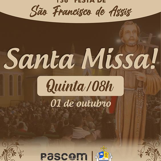 Santa Missa - Quinta 01/10   08H